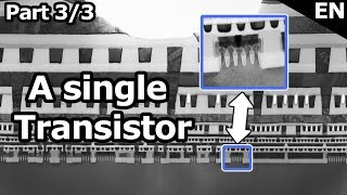 Catching a single Transistor - Looking inside the i9-9900K: A single 14nm++ Trigate Transistor (3/3)