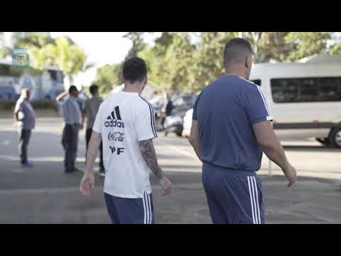 ¡Último entrenamiento antes de enfrentar a Brasil! #VamosArgentina