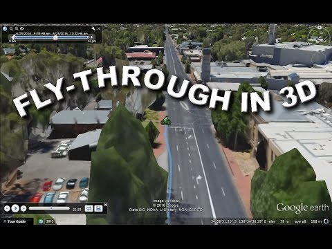 Making a Google Earth Flythrough with 3D features