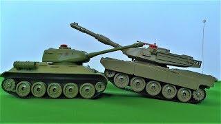 танковий бій граємо в іграшки для хлопчиків відео про іграшкові танки для дітей