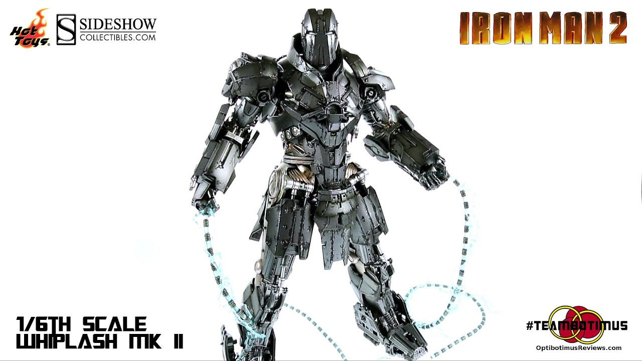 Video Review of the Hot Toys Iron Man 2 Whiplash MK II ...
