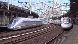 【2017年5月撮影】徳山駅 新幹線ホームの動画