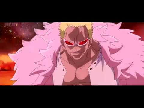 Luffy vs Doflamingo //AMV// Lonely - Yung Bans ft. Lil Skies