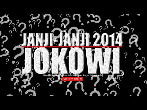 "FINS - Diskusi Politik: ""Membahas Arsitektur Kabinet Jokowi"" (11-TAMAT)"