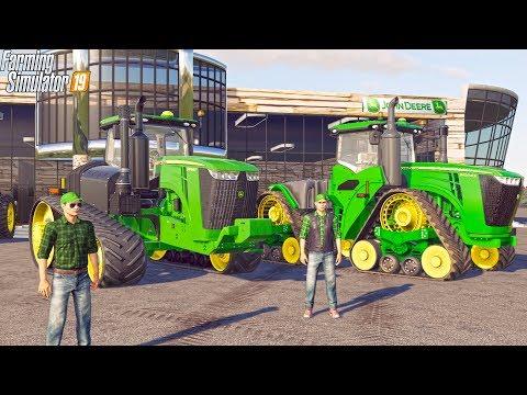 SPENT $850,000 AT JD DEALERSHIP | 9RX + 9RT | MEGA RANCH | FARMING SIMULATOR 2019