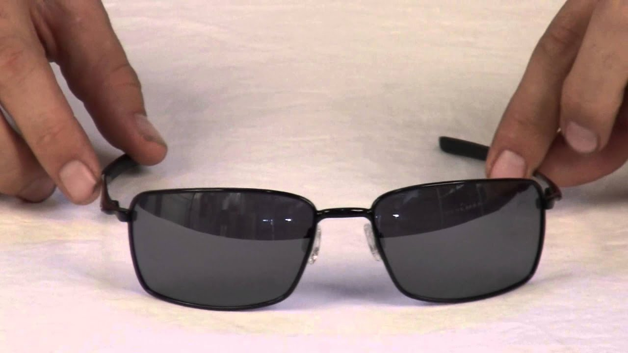85881fb65 Oakley Square Wire Sunglasses Review at Surfboards.com - YouTube