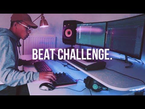 BEAT CHALLENGE | MAKING A BEAT | Chuki Beats Making a Sampled Trap Beat