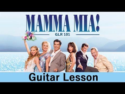 Mamma Mia - Guitar Lesson - ABBA