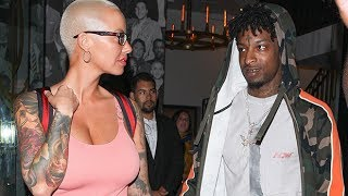 21 Savage Gushes Over New FlameAmber Rose On 2 Fresh Tracks: 'We GotSomething Special'