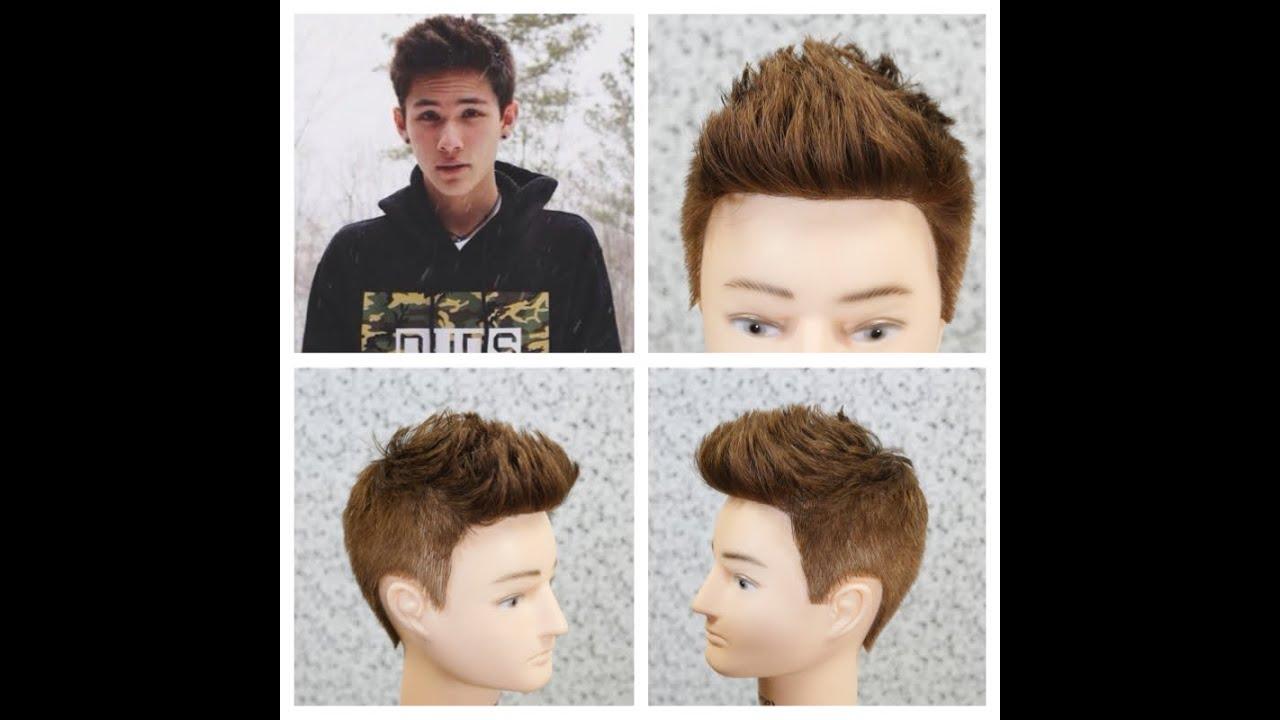 Carter Reynolds Haircut Tutorial Youtube