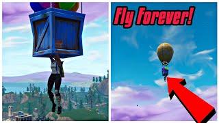 Fly Forever Glitch In Fortnite (New) Fortnite Glitches Saison 6 PS4/Xbox one 2018