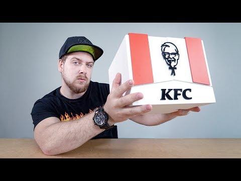 ЗАГАДОЧНАЯ КОРОБКА KFC