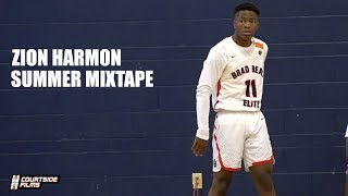 Zion Harmon OFFICIAL Summer Mixtape! TOP PG in the Class of 2021!