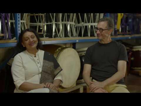 Creating Chi Udaka - Taikoz & Lingalayam Dance Company