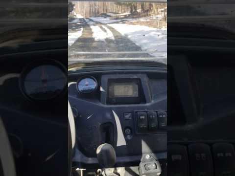 pioneer 500 acceleration test (clutch spring and dobeck afr+)
