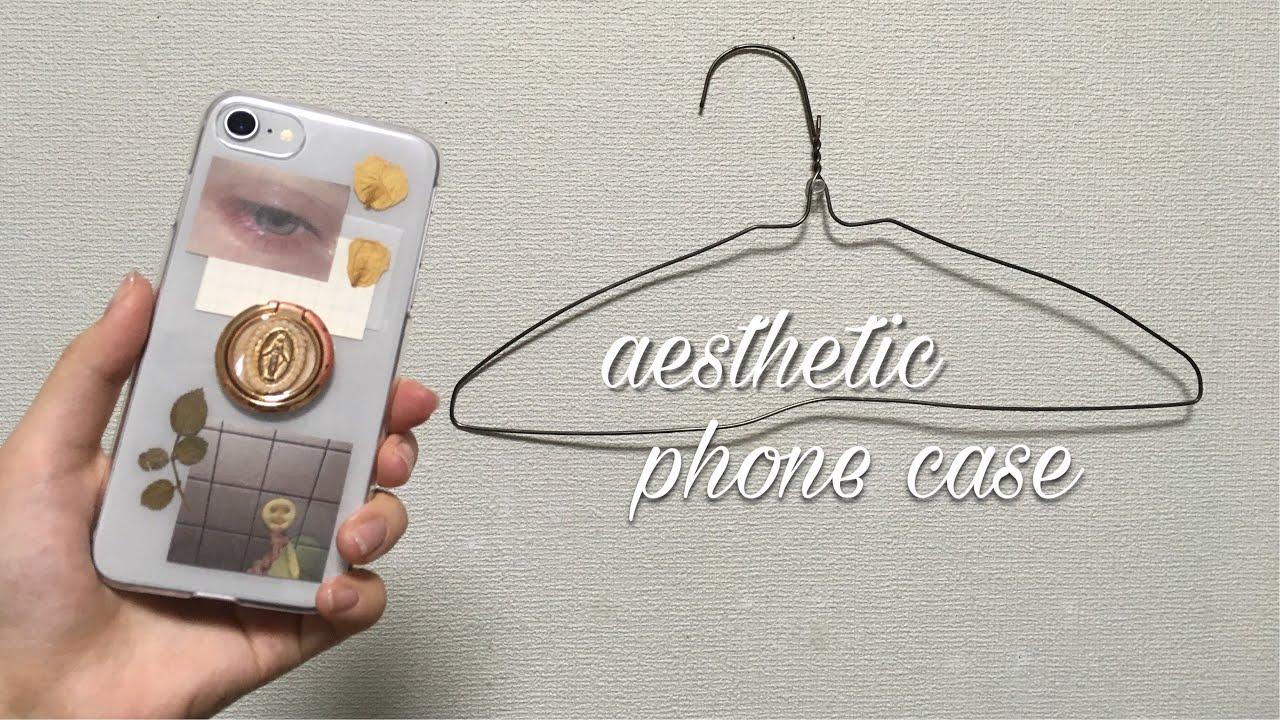 DIY 🌿 aesthetic iPhone case / オリジナルiPhoneケース - YouTube