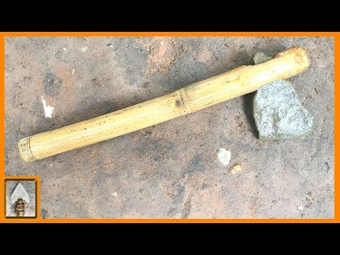 Primitive Technology Tools - Beautiful small stone Axe