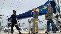 Randall Reeves receives commendation from the Ocean Cruising Club
