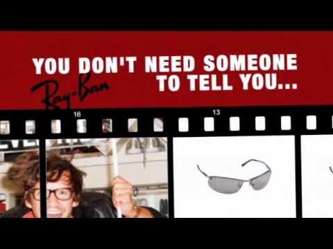 c6a5803e5f Ray Ban Sidestreet Polarized Sunglasses RB 3179 004-82 - YouTube