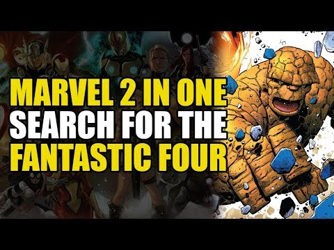 Dr. Doom becomes Galactus & eats the universe Marvel 2 in One: Fate of The Four