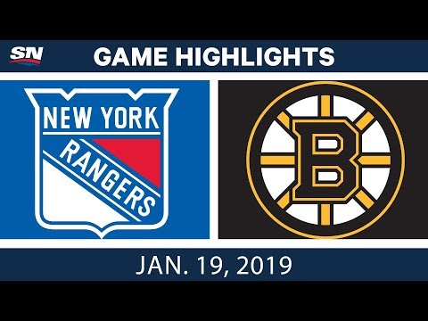 NHL Highlights | Rangers vs. Bruins - Jan. 19, 2019