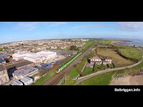 Balbriggan - A  Birds Eye View