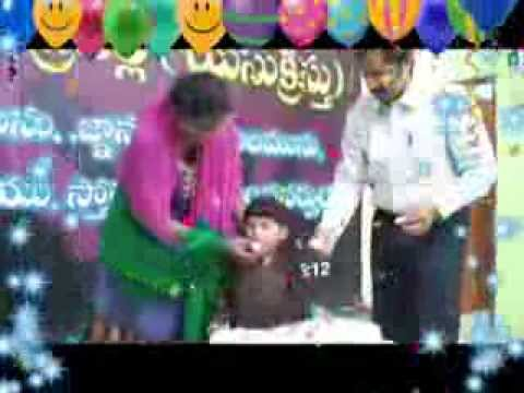 Dr.Daniel Jayanth son Hagin Birthday Party