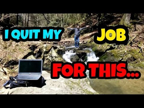 I QUIT MY HIGH PAYING 9-5 JOB TO TRADE FULL TIME