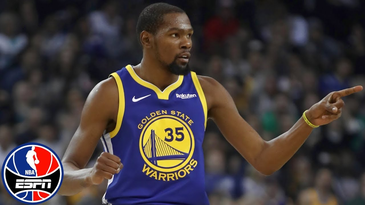 Kevin Durant leads Warriors without Draymond Green, Steph Curry | NBA Highlights