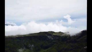 Time lapse cratère commerson 02/03/2016 (île de la Réunion)