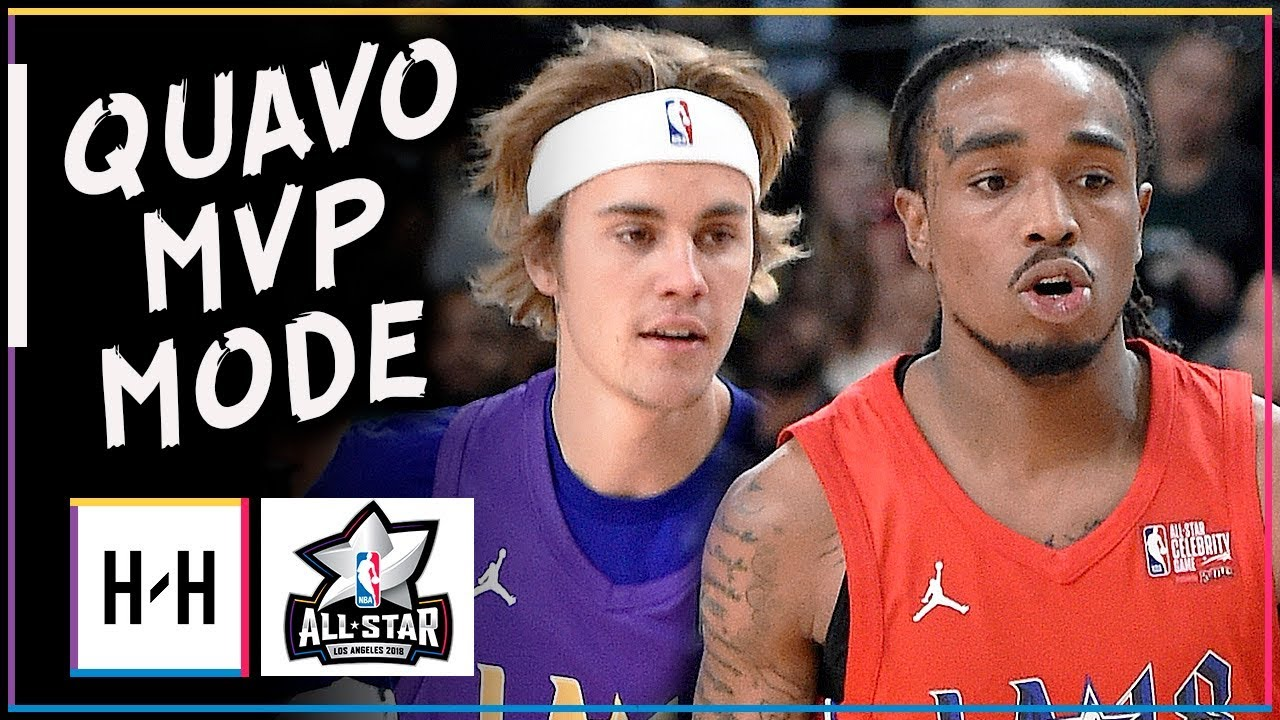 Migos Quavo MVP Full Highlights at 2018 All-Star Celebrity Game - 19  Points 65ed76004