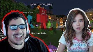 The Best Minecraft Server ft. Pokimane