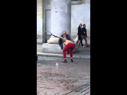 Matthias Street Performance in Covent Garden