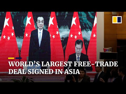 RCEP: 15 Asia-Pacific countries sign world's largest free-trade deal