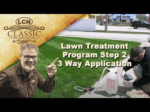 Lawn Treatment Program Step 2 :: 3 Way Application