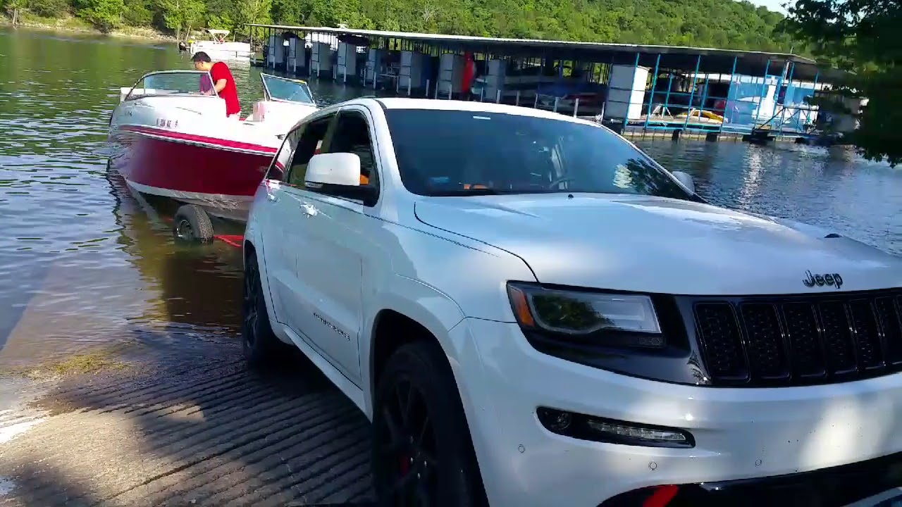 2016 Jeep Srt Boat Towing And Launch At Table Rock Lake