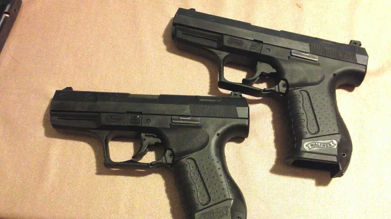 Walther P99 9mm Vs 40s Amp W Youtube