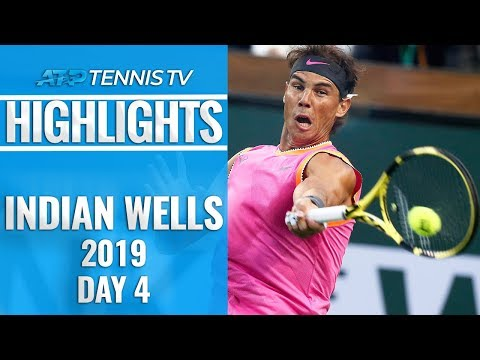 Federer, Nadal Shine In Round 2 | Indian Wells 2019 Highlights Day 4