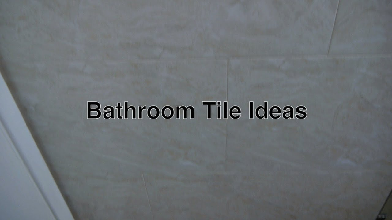Bathroom Tile Ideas U0026 Designs For Floor + Wall Tiles For Small Modern  Bathrooms W/ Ceramic Flooring   YouTube