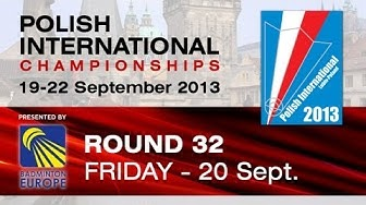 R32 - MS - Matthias Almer vs Rasmus Messerschmidt - Polish International 2013