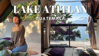Lake Atitlan, Guatemala Eco Tiny Home Tour 2021 🇬🇹