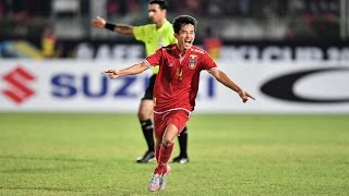 Myanmar vs Malaysia (AFF Suzuki Cup 2016: Group Stage)