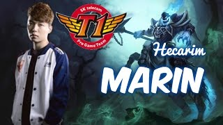 SKT T1 MaRin HECARIM Top vs Diana Patch 5.17 | League of Legends