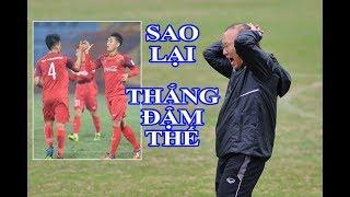 HLV Park Hang Seo sử dụng đội hình SIÊU LẠ, U23 Việt Nam khiến Đài Loan SỤP ĐỔ