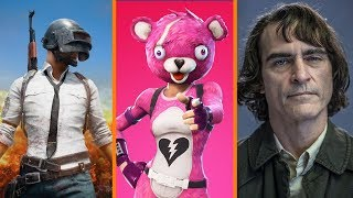 PUBG Downgraded on Xbox One X + Fortnite Doesn't Use Switch Online + Joaquin Phoenix's Joker Reveal!