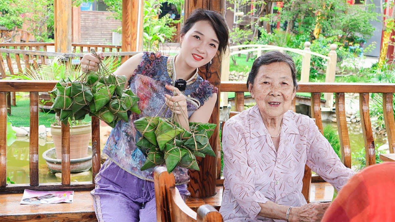 表嫂和外婆一起迎端午,五項傳統習俗不能少,大家的家鄉有這些嗎