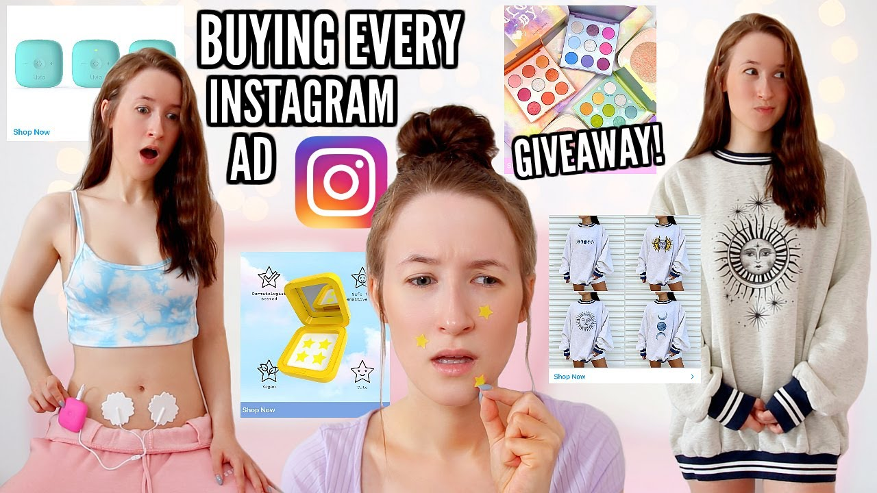 I Bought EVERY Instagram Advert For A WEEK! This Is What Happened...