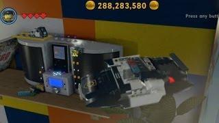 The Lego Movie Videogame - Golden Instruction Build #7 - Flying Police Car Vehicle Showcase