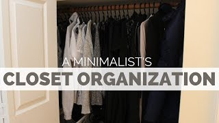CLOSET AND ORGANIZATION TOUR | CAPSULE WARDROBE + MORE