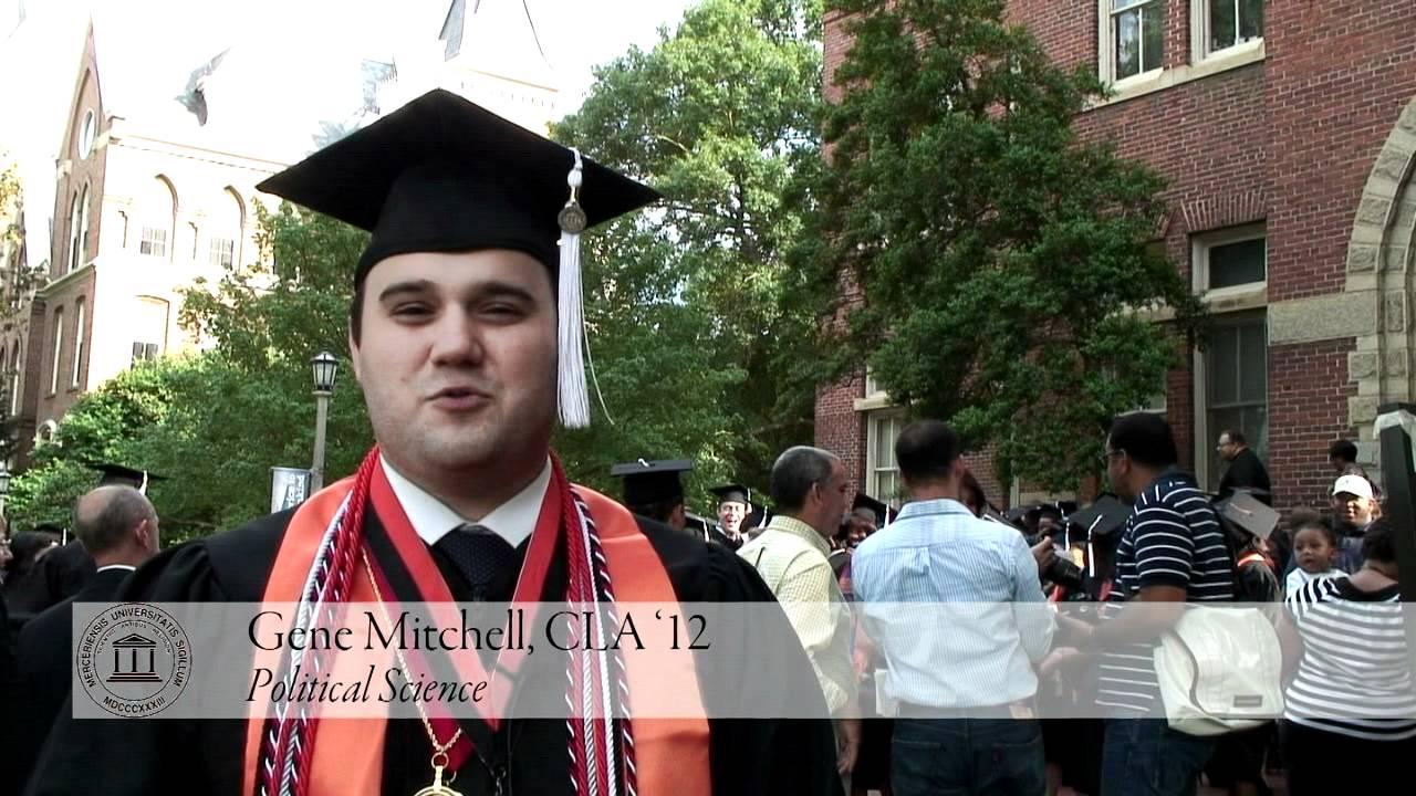 Mercer University Commencement 2012 - YouTube